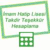 Anadolu İmam Hatip Lisesi 9. Sınıf Takdir Teşekkür Hesaplama