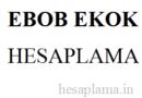 EBOB EKOK Hesaplama (Obeb – Okek)